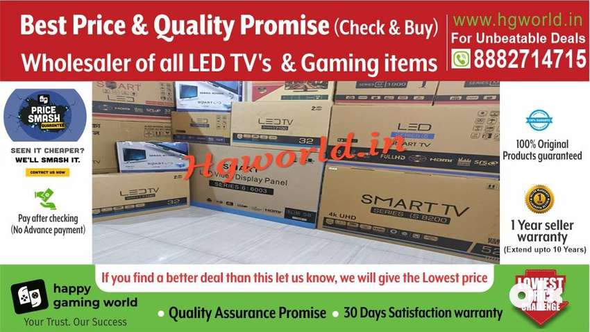 Brand New LedTv Smart\4K Uhd All Size(Unbeatable Price|QualityPromise) 0
