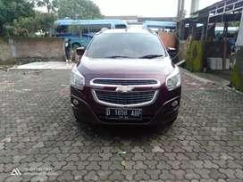 Dijual cepat Chevrolet Spin LTZ Diesel MT 2013