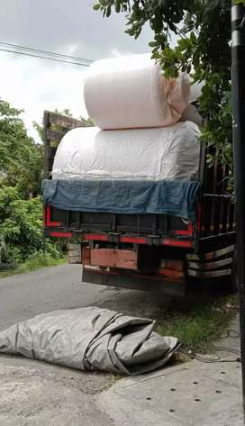 Gudang tandon 5000 tebal penampungan air minyak curah bahan plastik