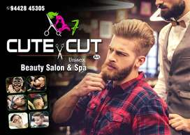 MENS HAIR STYLIST FOR A BEAUTY PARLOUR