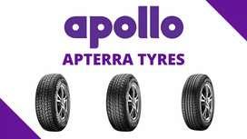 New APOLLO Apterra tyres
