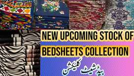 Bedsheets Stiched or Unstitched with Pillow covers & Women Garments