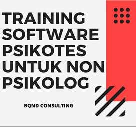 Training Software Psikotes untuk Non Psikolog