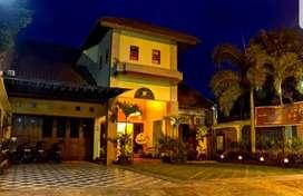 Dijual rumah pemondokan dan quest house dekat hotel Hyatt Yogyakarta