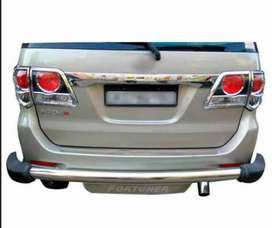 Toyota Fortunre back bumper guard