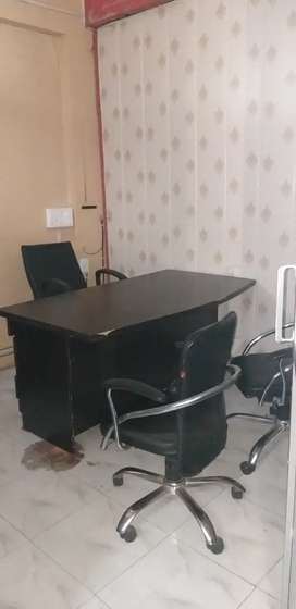 400sqft fully furnished ac office call 73x79x48x53x70 indira nagar Lko