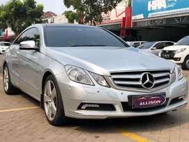 Mercy E250 Coupe CBU AT 2010 Low Km