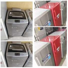 Best 5 year warranty single door fridge// washing machine available