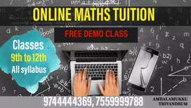 MATHS ONLINE CLASSES - 9TH to 12th