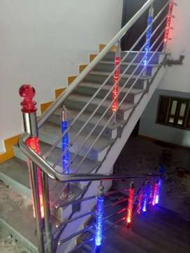 Steel railing & steel furniture