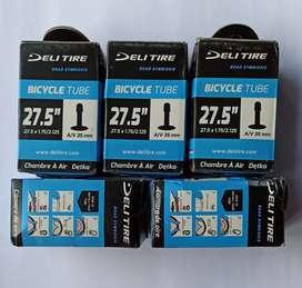 Ban dalam sepeda merk Deli Tire27.5 x 1.75 - 2.125