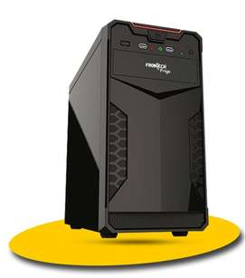 New CPU Tower Black ( 1 Year Warranty )  Seal Pack