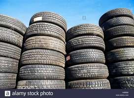 SECOND HAND USED TYRES AVAILABLE FOR ALL VEHICLES.