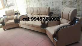 Full khushan sofa 3+2 sath good quality.with warranty
