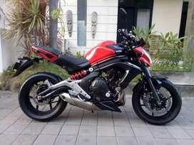 Moge Kawasaki ER6N seperti baru
