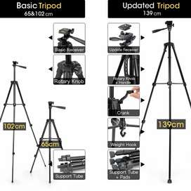 Professional Tripod Stand  For Mobile DSLR Ring Light