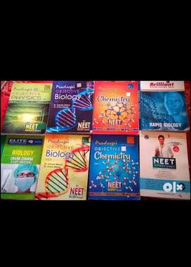 Medical entrance exam used books