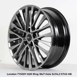 velg racing LONDON TY5357 HSR R18X7 H5X114,3 ET45 HB