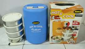 Hot & cool MARCO container lunch box 4 susun