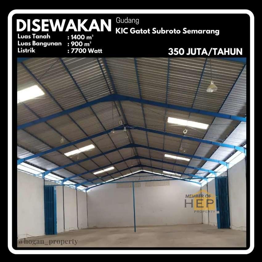 Gudang Kawasan Industri Candi Gatot Subroto Semarang