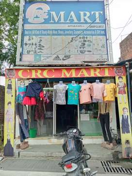 Readymade garment shop for sell.