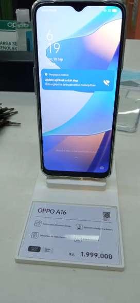 Kredit HP OPPO A16 Dp mulai 10%
