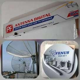 Jual setting parabola dan antena tv
