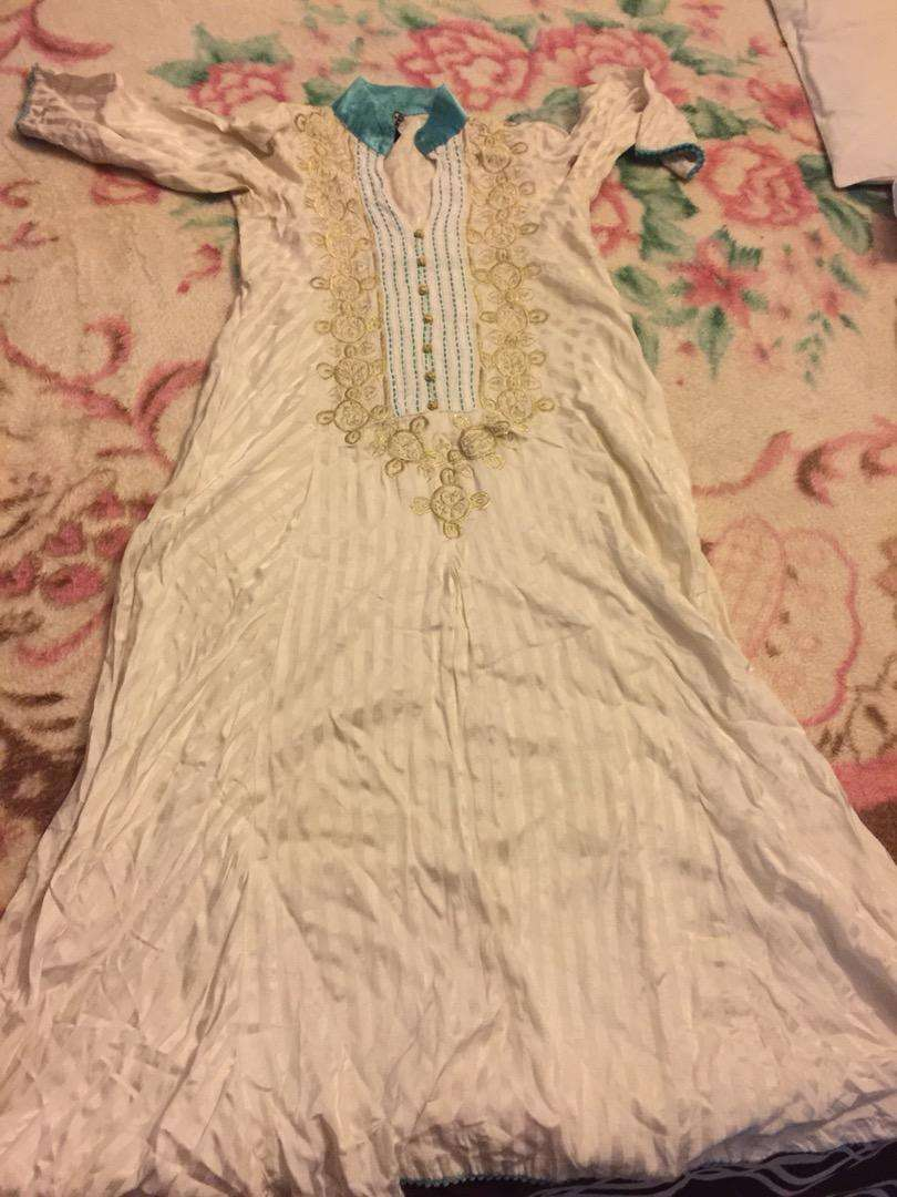 Generation silk embroidered frock. Size small 0
