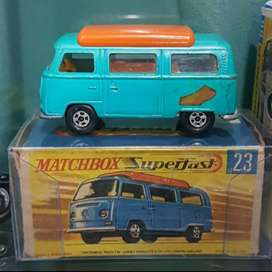 Matchbox Lesney Authentic 1970 No 24 Volkswagen Camper