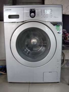 Samsung fully automatic front loaded 5.5kg washing machine