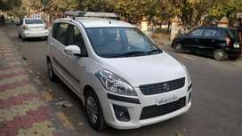 White Ertiga petrol in excellent condition