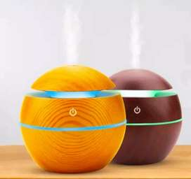 Humidifier Kayu Difusser Purifier Aromatherapy Essential