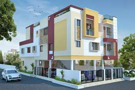 New 2 bhk flats for sale at Pammal, VOC Nagar Near BP Jain Hospital