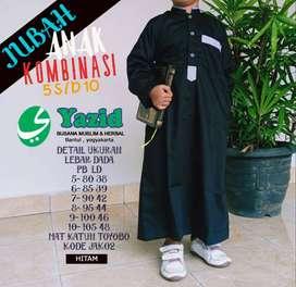 jubah anak / gamis /koko anak merk yazid