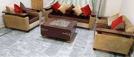 Sofa Set & Center Table For Sale