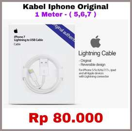 Apple Product ORIGINAL 100% Kabel USB Charger Adapter - READY STOCK