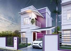 Under-construction villas for sale | Chandranagar, Palakkad