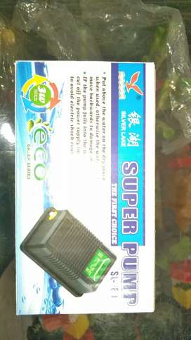 Fish aquarium oxygen pump