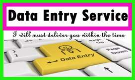 Data entry job for female
