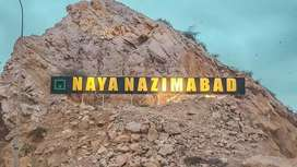 Naya nazimabad block C 240 yards big parkfacing plot