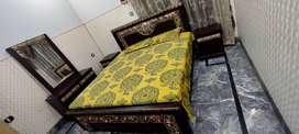 Stylesh Wooden Double Bedset or Sofa Dining Table Dewaan Chairs Sale