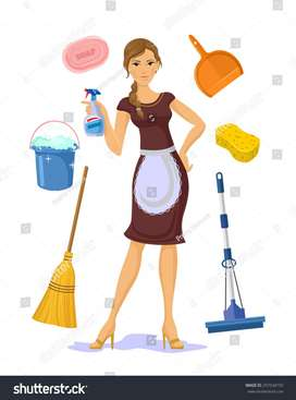 direct joining No hidden charges urgent hiring for female maid only..