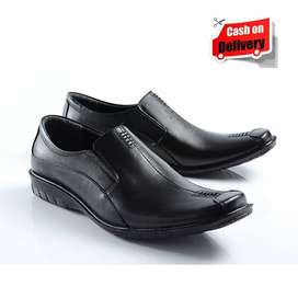 Sepatu Kulit Asli Pantofel PDH Kantor Pria Kerja Formal Original Spato