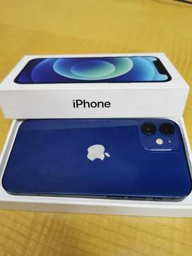 Apple iphone 12 mini 128GB blue with bill