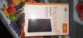 Portable external hard disk 1TB seagate
