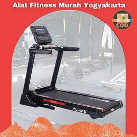 Alat Fitness Treadmill Elektrik 1 Fungsi AUto Incline TL-126 Sleman