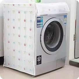 Cover mesin  cuci bukaan depan