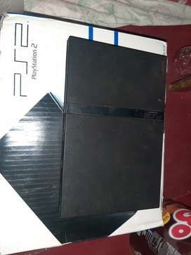 PS2 + HARDISK HDD 80GB