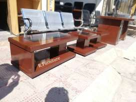 Center table set _ 3 tables _ Contact us for office chairs sofa tables