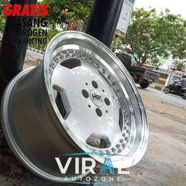 Velg Mobil Ring 16 HSR Geothe Lebar 7/8 Brio Agya Ayla Datsun Go DLL